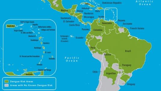 Dengue, Ausbreitung: Amerika.jpg